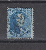 COB 15 Dentelé 12 1/2 Oblitération à Points 374 VERVIERS - 1863-1864 Médaillons (13/16)