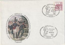 "Berlin - 1981 - Privatganzsachenumschlag ""Postillione"", SSt. (1/476) - Sobres Privados - Usados"