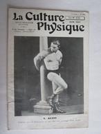 Revue La Culture Physique Sport Culturiste S Klein Homme Torse Nu - 1900 - 1949
