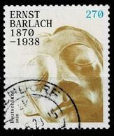 Bund 2020,Michel# 3521 O Ernst Berlach, Selbstklebend - Gebraucht