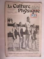 Revue La Culture Physique Sport Boxe Boxeur Primo Carnera Homme Torse Nu - 1900 - 1949