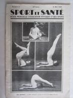 Revue Sport Et Santé Miss Quincy Plongeuse Natation - 1900 - 1949