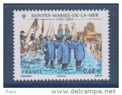 2015-N°4937** CONFRERIE DES SAINTES-MARIES-DE-LA-MER - Ongebruikt