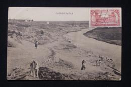 MAROC - Carte Postale De Casbah- Tadla Pour La France En 1923, Cachets Militaire Au Verso - L 90294 - Briefe U. Dokumente