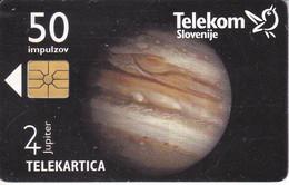 TARJETA DE ESLOVENIA DE EL PLANETA JUPITER (PLANET) - Slovenië