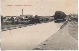 71 CHAGNY  Le Canal Et Les Tuileries (Péniches) - Péniches