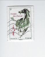Année Lunaire Chinoise Du Cheval 4835 Oblitéré 2014 - Used Stamps