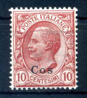 1912 COO Cos N.3 MNH ** - Egée (Coo)