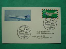 Concorde -- NORDERSTEDT -- Oblitération Du 1er Janvier 1970 -- Lufthansa Pro - Philatelie 70 - Flamme Concorde - Marcofilia - EMA ( Maquina De Huellas A Franquear)