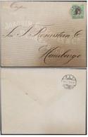A) 1909, BRAZIL, FROM PERNANBUCO TO HAMBURG, LIBERTY STAMP - Briefe U. Dokumente
