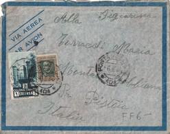 ERYTHREE - POSTA MILITARE - LETTRE PAR AVION POUR L'ITALIE - LE 6-5-1936 - MANQUE RABAT DE FERMETURE.. - Eritrea