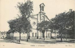CPA 30 Gard Nimes L'Oratoire Temple Protestant - Nîmes