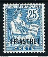 Creta (Francesa) Nº 16 Usado Cat.47€ - Oblitérés