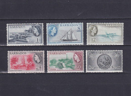 BARBADOS 1953/61, SG# 289-301, Part Set, Architecture, Fish, Ships, MNH - Barbados (...-1966)