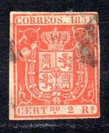 Sello Nº 25  España - Gebraucht