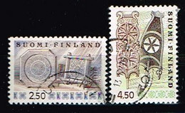 FINLANDE/Oblitérés/Used/1976 - Art / YVT N° 745/746 - MI.N°781/782 - Oblitérés