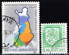 FINLANDE/Oblitérés/Used/1976 - Art / YVT N° 748,749 - MI.N°784,785 - Oblitérés
