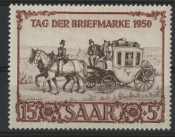 SARRE SAAR N° 270 COTE 60 € Neuf * (MH). TB - Nuevos