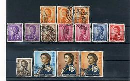 A17966)Hong Kong 196 - 197 + 199 - 201 + 203 + 206 - 208 Gest. - Gebraucht