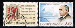 FINLANDE/Oblitérés/Used/1976 - Art , Architecte / YVT N° 759,760 - MI.N°795,796 - Oblitérés