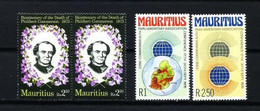 Mauricio Nº 397(2)-423/4 Nuevo - Maurice (1968-...)