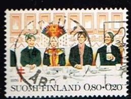 FINLANDE/Oblitérés/Used/1976 - Mariage à L'ancienne / YVT N°757 - MI.N°792 - Oblitérés