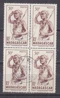 M4495 - COLONIES FRANCAISES MADAGASCAR Yv N°303 BLOC - Oblitérés