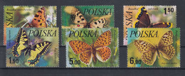 Polen Michel Cat.No. Mnh/** 2516/2521 Butterfly - Nuevos