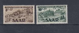 Saar Michel Cat.No. Mnh/** 262/263 - Unused Stamps