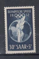 Saar Michel Cat.No. Mnh/** 315 - Unused Stamps