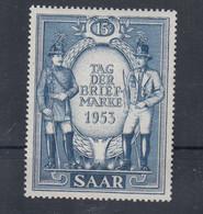 Saar Michel Cat.No. Mnh/** 342 - Unused Stamps