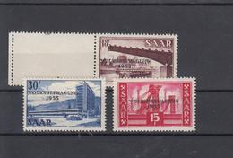 Saar Michel Cat.No. Mnh/** 362/364 - Unused Stamps