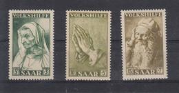 Saar Michel Cat.No.  Mnh/** 365/367 - Unused Stamps