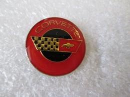 PIN'S    LOGO   CORVETTE   20mm - Corvette
