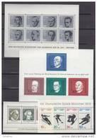 BRD, Block 3-30, Postfrisch, 1964-1994 - Blocs