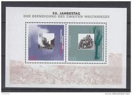 BRD Block 31, Postfrisch **, 50. Jahrestag Der Beendigung Des Zweiten Weltkrieges, 1995 - Blocs