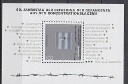 BRD  Block 32, Postfrisch **, 50 Jahre Befreiung Aus Konzentrationslagern 1995 - Blocs