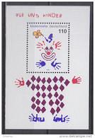 BRD Block 53, Postfrisch **, Für Uns Kinder, 2000 - Blocs