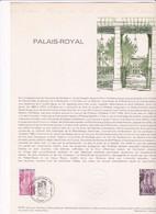 Document 1er Jour Palais Royal - Lettres & Documents