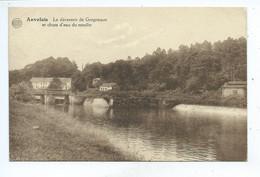 Auvelais Le Déversoir De Grogneaux Et Chute D'eau Du Moulin - Sambreville