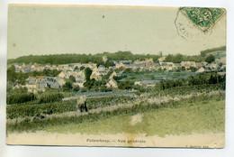 02 FOLEMBRAY Champs Abords Du Village Carte Couleur 1907 Timb   --/D14-2017 - Autres Communes