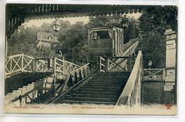 92 MEUDON BELLEVUE  Gare Joli Plan Du Funiculaire 1910 écrite    --/D14-2017 - Meudon