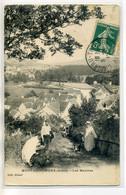 02 MONT ST SAINT PERE Ridart édit - Les Marches Villageois Maisons Du Bourg 1912 Timbrée      /D11-2018 - Autres Communes