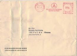 [A5] C. H, Boehringer Sohn - 22b Ingelheim Am Rhein 1949 > Fulda - Geneeskunde