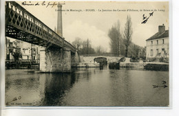 45 BUGES Pont De Chemin De Fer Jonction Canaux Orleans Briare Et Loing 1904 Dos Non Divisé    /D11-2018 - Autres Communes