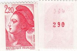 LIBERTE DE GANDON. 2,20 NUMERO ROUGE 2379a - 1982-90 Liberté De Gandon