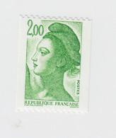 LIBERTE DE GANDON. 1,90 NUMERO ROUGE 2487a - 1982-90 Liberté De Gandon