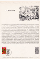 Document 1er Jour Lorraine - Lettres & Documents