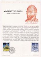 Document 1er Jour Vincent Van Gogh - Lettres & Documents