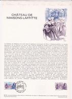 Document 1er Jour Château De Maisons-Laffitte - Lettres & Documents